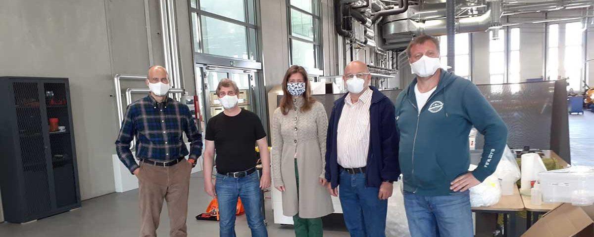 Gesichtsmasken Industrial MakerSpace