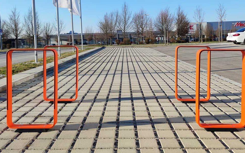 Patentanmeldung für hochfunktionale Fahrradständer